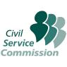 Civil Service Commission logo.