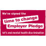 We're supporting time to change let's end mental health discrimination.