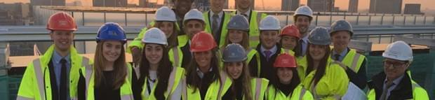 Image of Barratt Development Graduates Raise Funds For Princes Trust