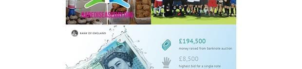 Image of Bank Of England Raise Over £250,000 For Charities