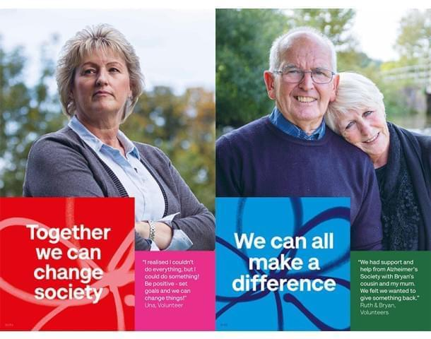 Together we can change society - We can all make a difference.