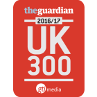 Image of The Guardian UK 300 2016/17 logo