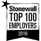 Image of Stonewall Top 100 Employers 2016
