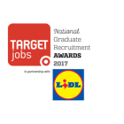 Image of the National Graduate Recruitment Awards 2017 in partnership with Lidl logo