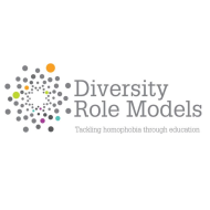 the Diversity Role Models - Tackling homophobia through education logo