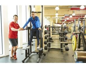 Image of Sky employees in a gym