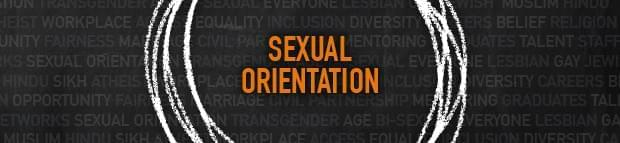 Image with text Sexual Orientation for article 7 Simple Solutions to Build a LGBTQ Inclusive Workplace