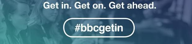 Image of BBC Get In logo