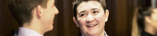 Image of Atkins' former apprentice discusses his experience as a transgender applicant
