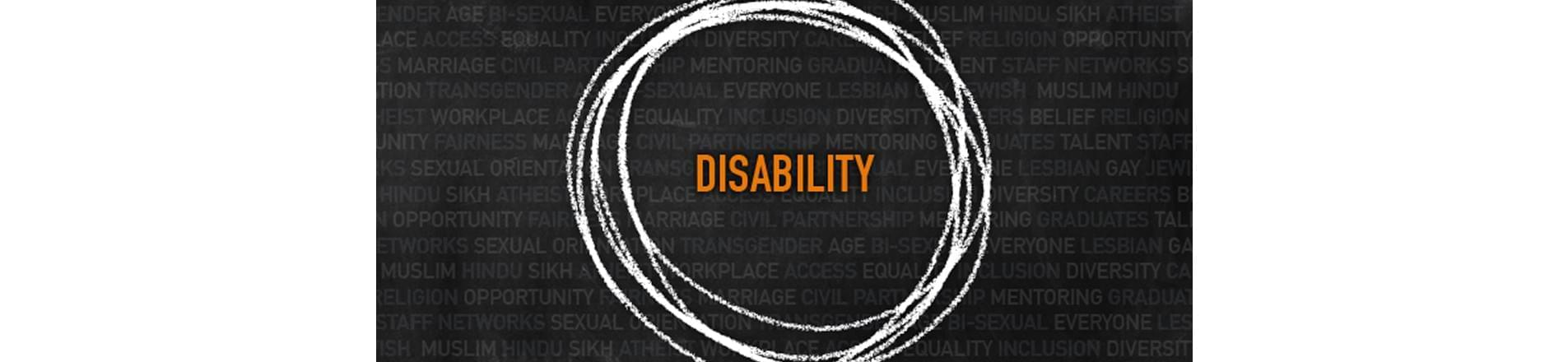 the word 'Disability'