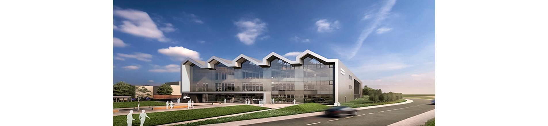 a modern building design