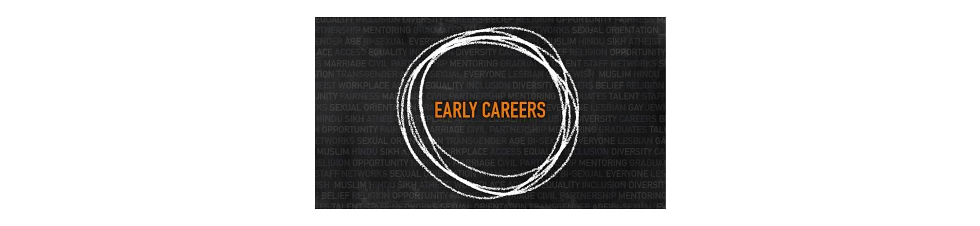 the text 'Early Careers'