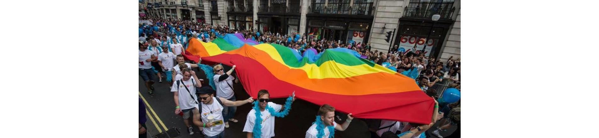 Barclays was the 2017 headline sponsor of London Pride