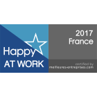 Happy at Work 2017 - France - certified by meilleures-entreprises.com