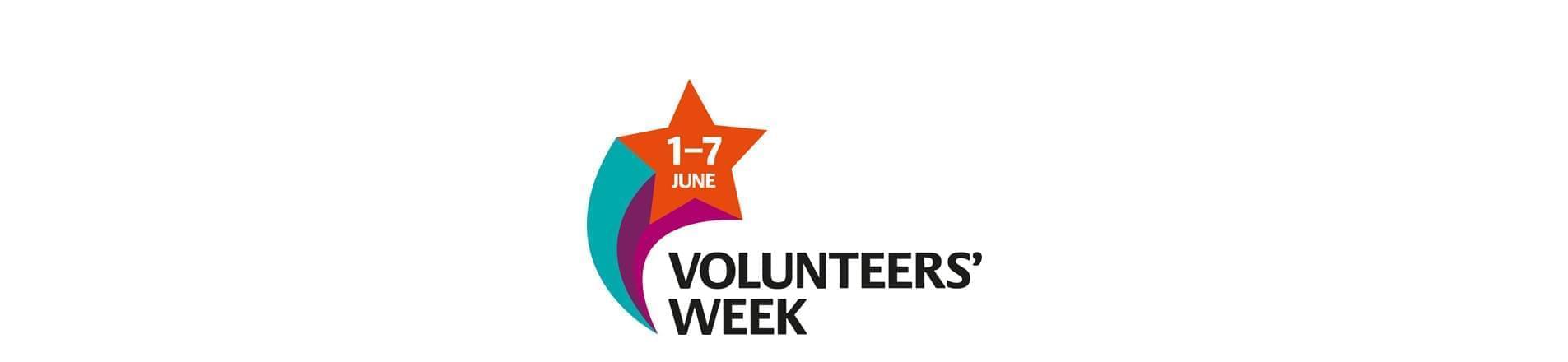 the Volunteers' Week 2017 1-7 June logo