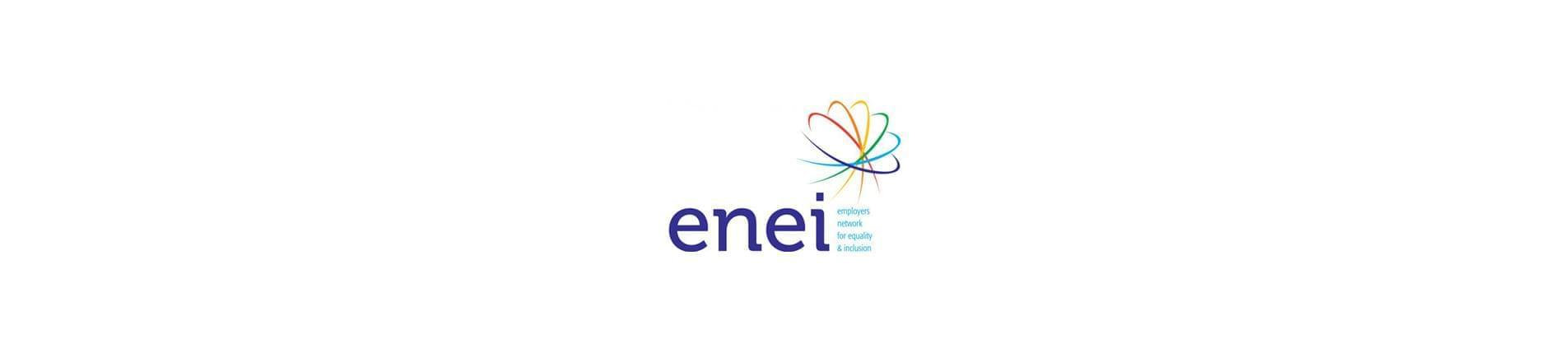 enei logo with the text 'employers network for equality and inclusion'.