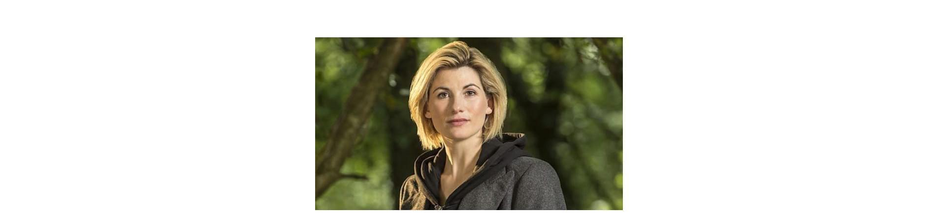 Jodie Whittaker, the 13th person to play Doctor Who and the first female to play this role.