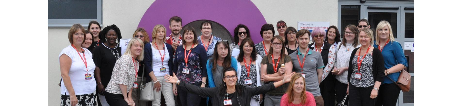 Employees of City College Norwich