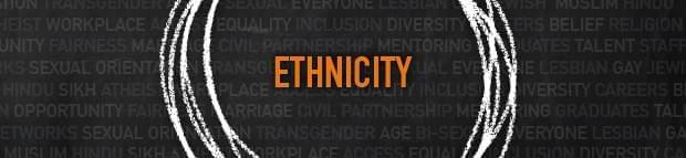 the word 'Ethnicity'