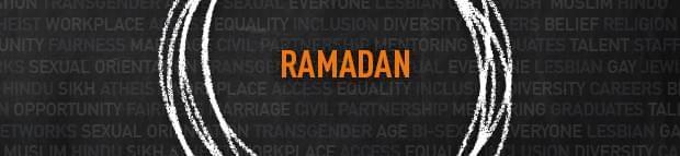 the word 'Ramadan'