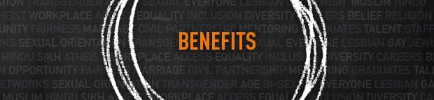 Image of Benefits branded text