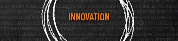 Image of Innovation text