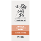 Armed Forces Covenant - Employer Recognition Scheme Bronze Award
