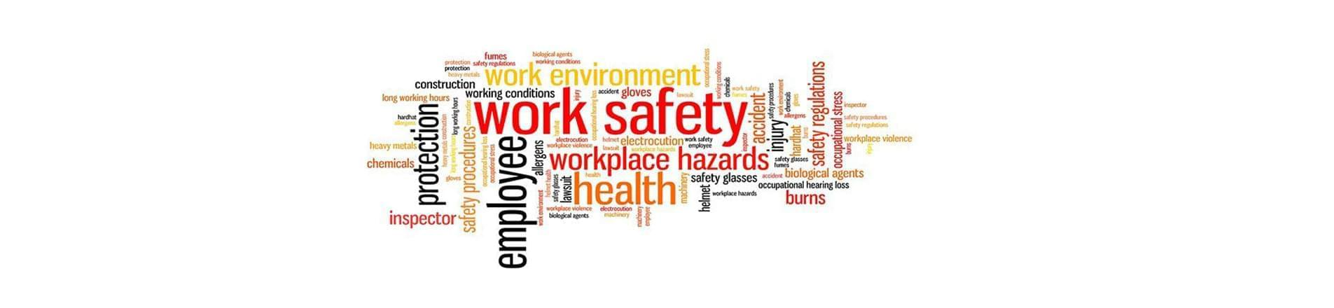 Health and Safety features in the workplace