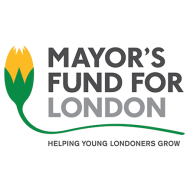 Mayor's Fund for London 'Helping young Londoners' logo