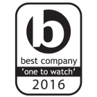 Best Company 'one to watch' 2016 logo