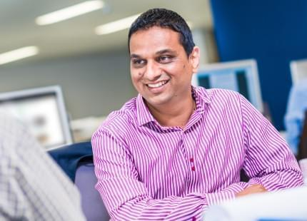 Image of Rahul, HS2 employee