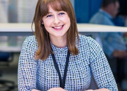 Image of Tammy, HS2 employee