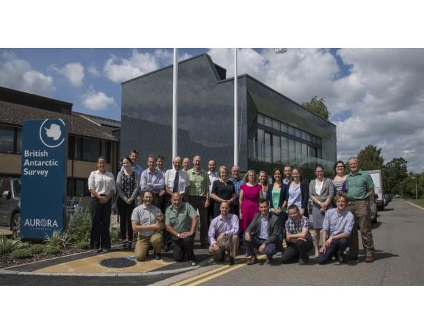 British Antarctic Survey employees